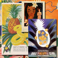 pineapples in print